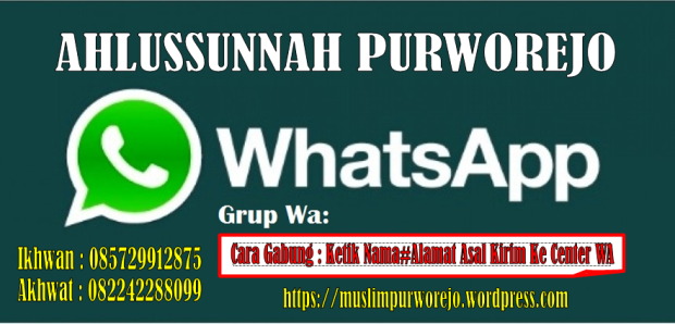 Grup WA Ahlussunnah Purworejo